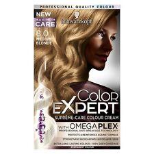 6 X Schwarzkopf COLOR EXPERT Omega Plex Permanent Colour 8.0 Medium Blonde