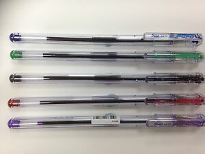 Pentel Superb BK77  Ballpoint Fine Point Pens in 5 Colours
