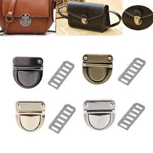 c7d92fde00b 1Pcs Metal Clasp Turn Lock DIY Handbag Bag Purse Hardware Bag Part ...