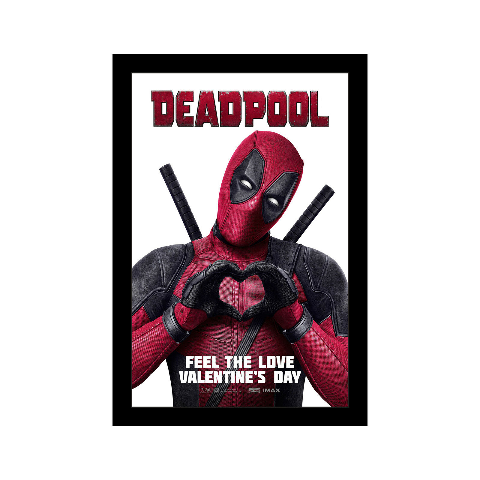 DEADPOOL - 11x17 Framed Movie Poster by Wallspace