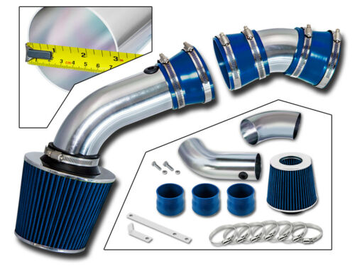 BCP BLUE 96-99 GMC C2500 K2500 Suburban 5.0//5.7 V8 Cold Air Intake Filter