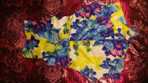 multicolore floreale Playsuit Tessuto tuta pagliaccetto RqAIw4H