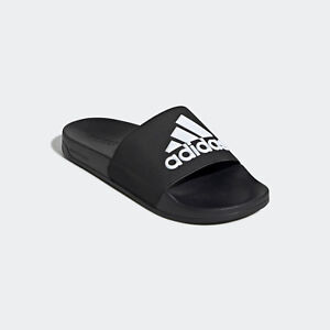 1475f0a2490 Image is loading Mens-Adidas-Adilette-Black-Slides-Shower-Sandal-Athletic-