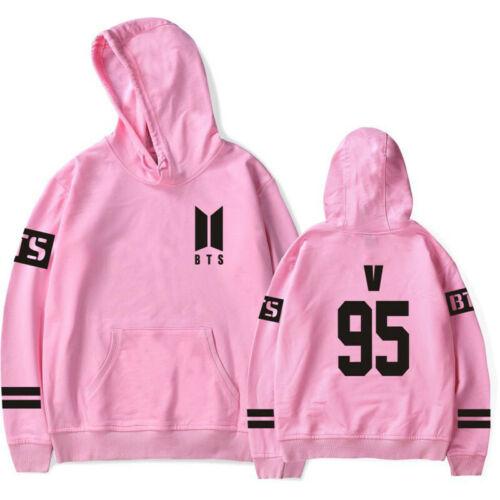 KPOP BTS Bangtan Boys Hoodie Pullover Men Women Sweater Jumper JUNG KOOK V JIN
