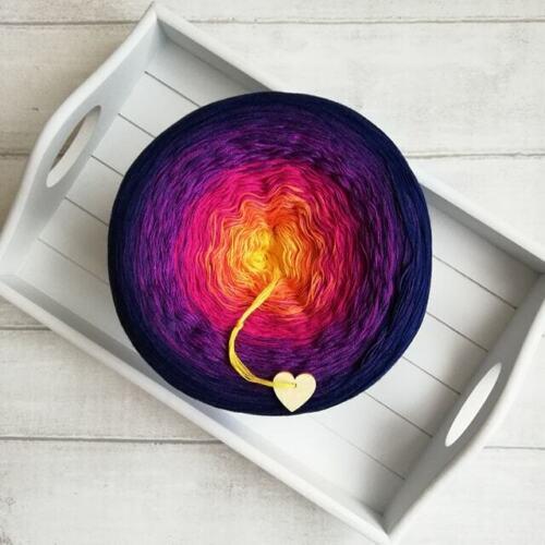 725-370-720-740-745-055 GALAXY Mandala Yarn Gradient Ombre Cake Yarn