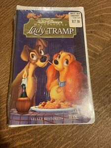 Walt Disney Masterpiece Lady And The Tramp Vhs New Sealed 786936460933 Ebay