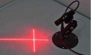 650nm-50mW-Focusable-Red-Laser-Cross-Line-Module-Lock-Focus-Ring-Design
