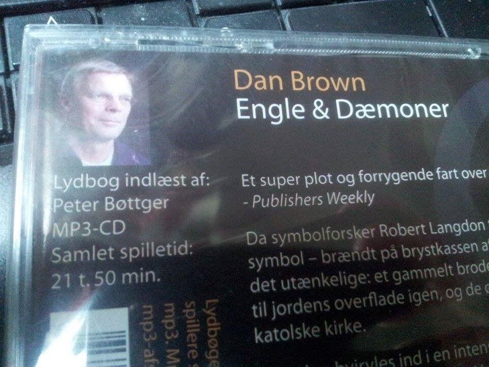 Engle & dæmoner - lydbog, Dan Brown, Lydbog
