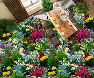 3D Flower Plants 794 Floor WallPaper Murals Wall Print Decal 5D AU Lemon