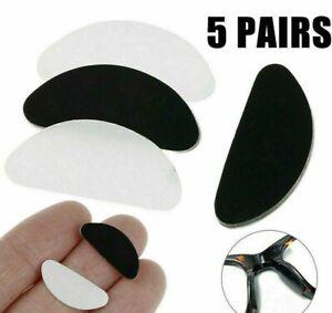 Anti-Slip-Nariz-Almohadillas-de-Silicona-Stick-En-Cojin-de-nariz-para-Anteojos-Gafas