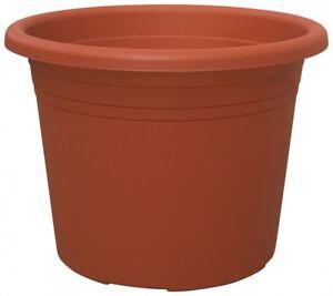 Blumentopf-CYLINDRO-rund-aus-Kunststoff