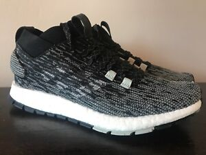 13e1421809b Adidas Men s PureBoost RBL LTD RB Running Shoes Black Grey Oreo Size ...