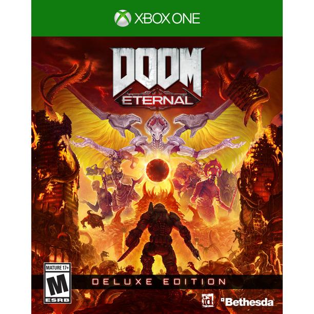 Bethesda Doom Eternal Deluxe Edition (Xbox One) | Ebay