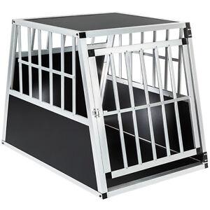 Hundebox-Transportbox-Alubox-Box-Hundetransportbox-Reisebox-Autobox-Alu-B-Ware