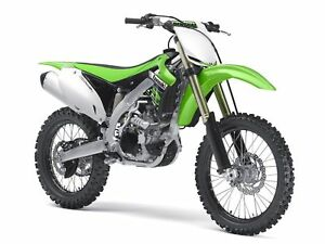 Moto New Ray 49403 Kawasaki Kx450f, échelle 1: 6 93577494037