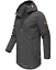 Weeds-senores-chaqueta-invierno-larga-chaqueta-Parka-abrigo-forro-calido-manakaa miniatura 18