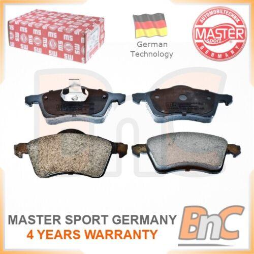 # GENUINE MASTER-SPORT GERMANY HEAVY DUTY FRONT DISC BRAKE PAD SET FOR VW