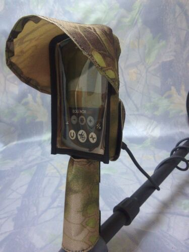 Details about  /  Minelab Equinox 600 800 cover for metal detector a handle and visor Piton