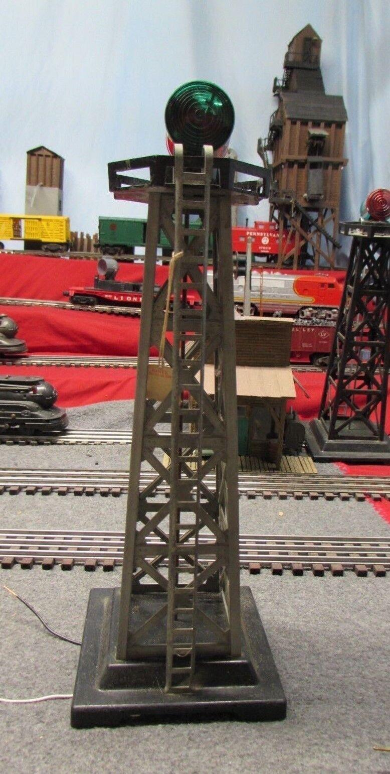 Vintage MARX Electric Train Tin Metal Switch Tower O Gauge