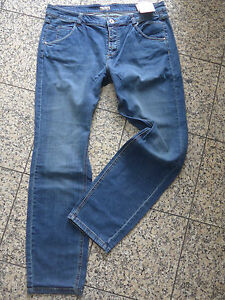 S-OLIVER-Jeans-Trousers-Triangle-Size-40-Long-Blue-Length-34-of-063-New