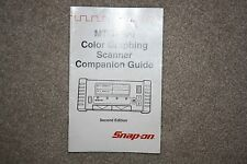 Snap On Mtg2500 Color Graphing Scanner Companion Guide Second Edition Manual