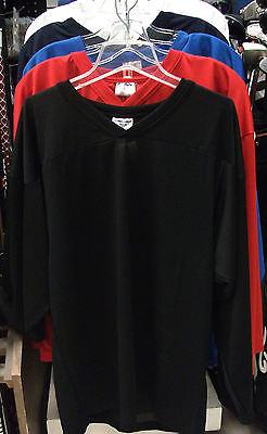 mens senior men goal New Eagle ice hockey goalie jersey royal blue adult XL Sr