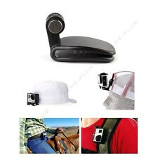 New Black Travel Quick Clip Mount for GoPro HD Hero 2 3 3+ 4 Camera Accessories