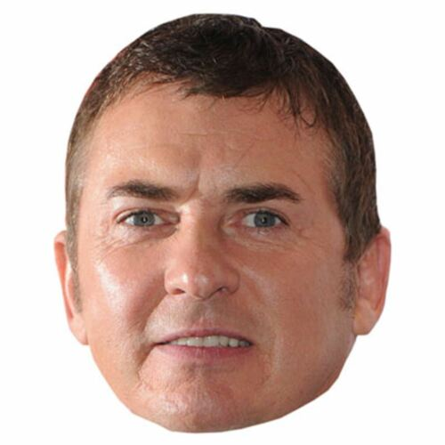 Shane Richie Celebrity Mask Card Face and Fancy Dress Mask