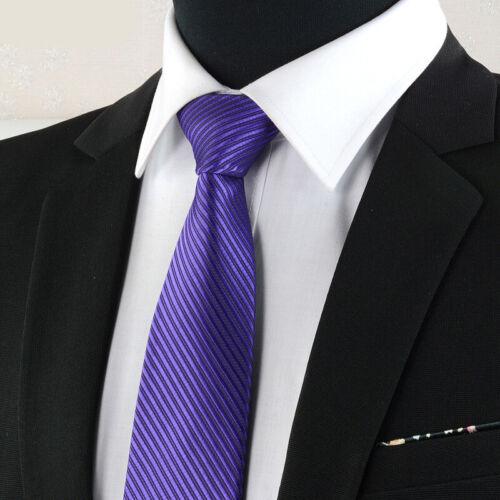 Men Classic Silk Necktie Striped Neck Tie Wedding Formal Party Fashion  145*8cm