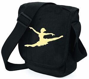 Ballet-Dancer-Bag-Shoulder-Bags-Xmas-Birthday-Girl-Boy-3-Designs-2-Colours-Shoes