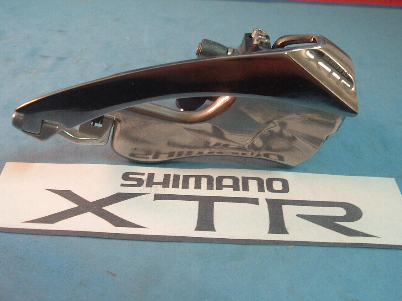 Shimano XTR M950 NEU  NOS MTB Front Derailleur Vintage -31.8MM -BP  TS -7  8 -Speed