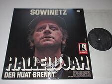 LP/KURT SOWINETZ/HALLELUJAH/DER HUAT BRENNT/Kurier/Preiser Records SPR 3250
