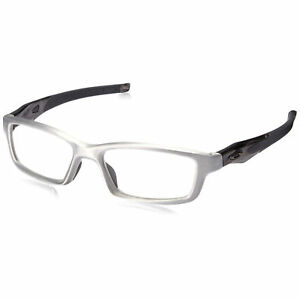 8bc47d5756 Oakley Crosslink Pro OX3127-0753 Aluminum Glasses Frame - Grey Smoke ...