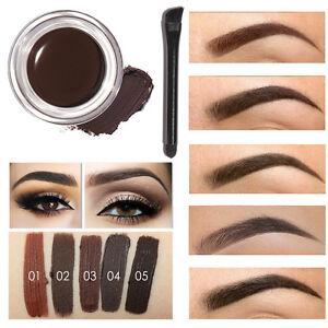 Details about 5 Colors Eyebrow Gel Durable Focallure Eyebrow Pomade Gel  Waterproof makeup