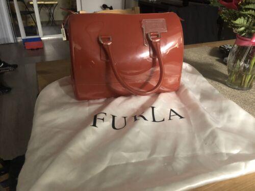 Furla Candy Bag Satchel, Orange