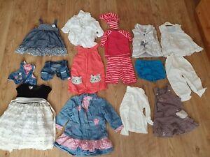 Baby-Girl-bundle-18-items-12-18-Months-M-amp-S-H-amp-M-TOP-shop-pumpkin-patch