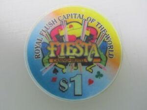 1-FIESTA-Casino-amp-Hotel-Las-Vegas-Nevada-FREE-Mystery-Bonus-Poker-Chip