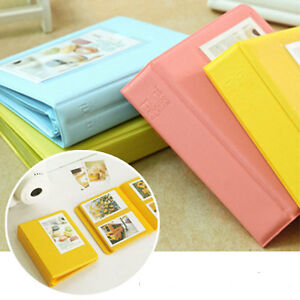 64 Pocket Mini Album Case Photo Storage Book For Fuji Polaroid Instax 7s 8 25