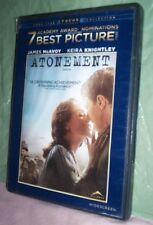 Atonement (DVD 2008) James McAvoy,Keira Knightley, Romola Garai,Vanessa Redgrave