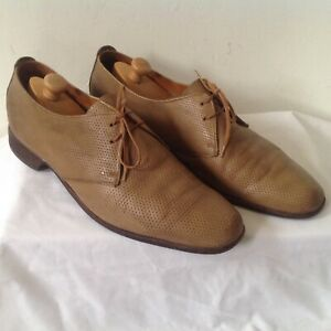 BALLY LEGGERISSIMO _ CHAUSSURES HOMME  VINTAGE _ MARRON _ P.10E_ MADE IN FRANCE