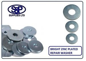 5MM-6MM-8MM-10MM-12MM-Steel-Repair-Washers-BZP-Penny-Washers-Zinc-Plated-Steel