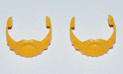 120230 Barba galo amarillo 2u playmobil,beard,bart,barbe