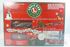 LIONEL 6-21944 Lionel R2R O-27 Christmas Set W/Musical Box Car LN