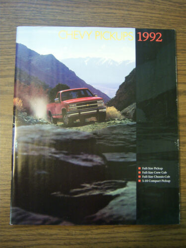 MINT 1994 CHEVROLET CHEVY C//K PICKUPS SALES BROCHURE NEW