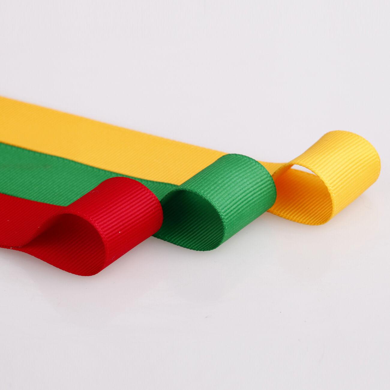 Jamaica jamaican flag 16 mm grosgrain cake board gift decorating Textiles ribbon