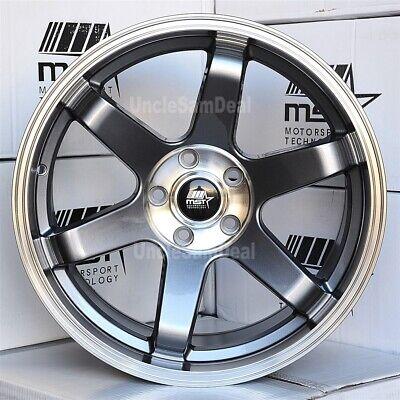 MST Wheels Rim MT01 17x9.0 5x114.3 ET35 73.1CB Glossy White