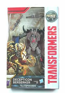 """TRANSFORMERS The Last Knight BERSERKER 5"""" Premier Deluxe action figure toy - NEW"""