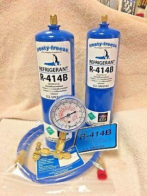 R401A R416A R414B R401B R409A /& R500 R134a R420A Hot Shot Replaces R12