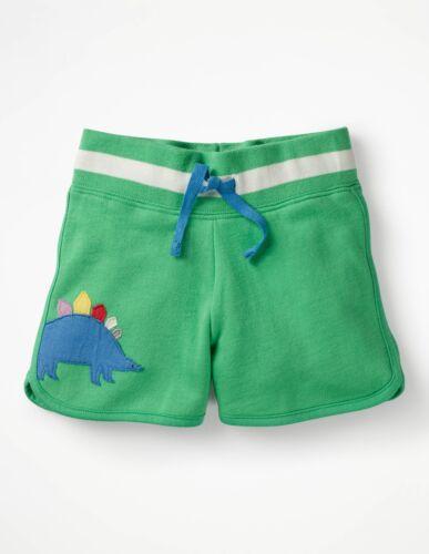 Mini Boden Shorts applique jersey girls G0287 blue pink green 2 3 4 5 6 7 8 9 10
