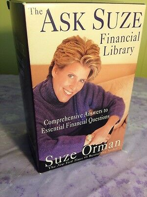 SUZE ORMAN The Ask Suze Financial Library 9 Book 2007 ABOUT MONEY